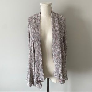 American Eagle Open Front Waterfall Cardigan